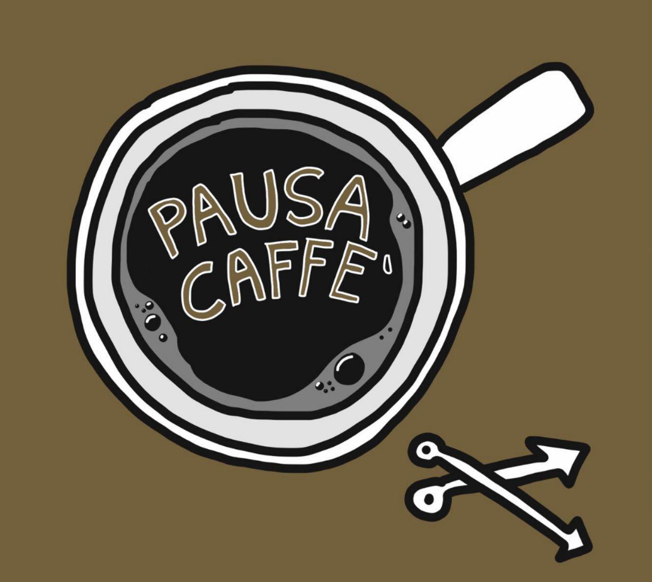 logo una pausa caffè